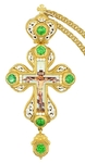 Pectoral priest cross no.312 with chain