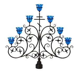 Seven-branch altar stand (candelabrum) - 31