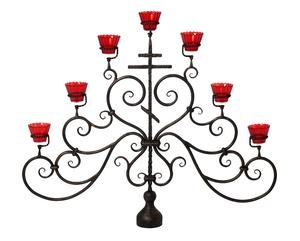 Seven-branch altar stand (candelabrum) - 32