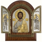 Folding icon Christ the Pantocrator
