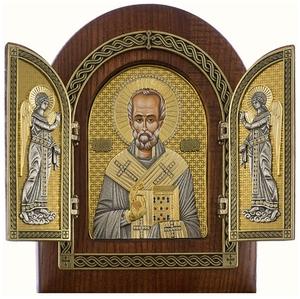 Folding icon - St. Nicholas the Wonderworker