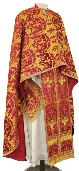 "Greek Priest vestment set 53-54""/6' (68/184) #563 - 10% OFF"