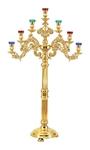 Church floor seven-branch candelabrum no.R3