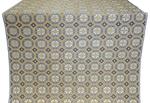 Posad Trinity metallic brocade (blue/white with gold)