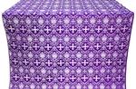 Vladimir silk (rayon brocade) (violet/silver)