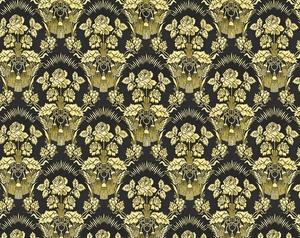 Radonezh metallic brocade (black/gold)