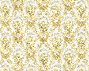 Radonezh metallic brocade (white/gold)