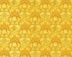 Radonezh silk (rayon brocade) (yellow/gold)