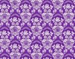 Radonezh silk (rayon brocade) (violet/silver)