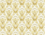 Radonezh silk (rayon brocade) (white/gold)