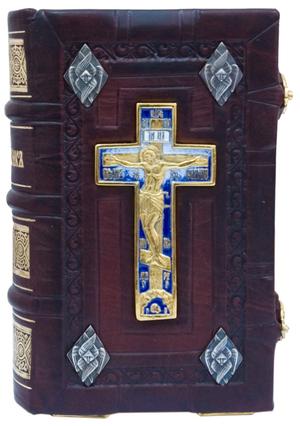 Orthodox service-book in jewelry cover no.65
