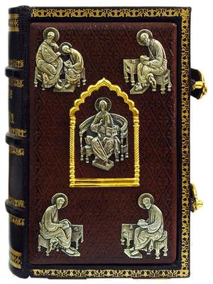 Private service Gospel book in custom-made jewelry cover no.70