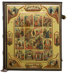Orthodox service Gospel book in jewelry cover no.99