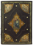 Orthodox service Gospel book in jewelry cover no.102