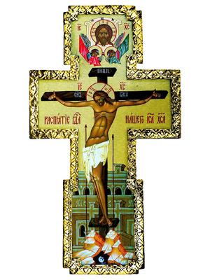 Wall crucifixion - 7b