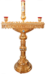 Floor candle stand no.26 (for 80 candles)