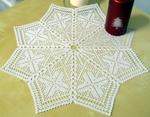 FSL Crochet Christmas Star