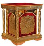 Church furniture: Proskomidian table