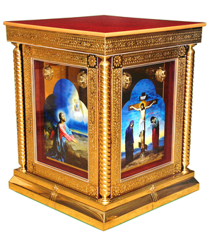 Church furniture: Holy table