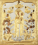 Religious icons: the Most Holy Theotokos the Joy of All Who Sorrow - 6