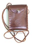 Leather pilgrim's bag - SL017