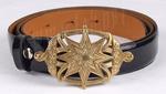 Belt with Greek buckle