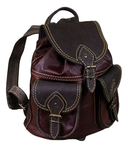 Natural leather backpack - 4a