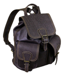 Natural leather backpack - 2