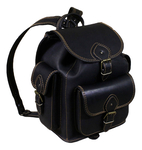 Natural leather backpack - 3