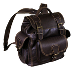 Natural leather Svyatoslav backpack