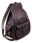 Natural leather Vytyaz backpack