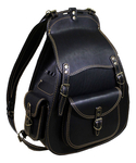 Backsack big Russian knight (black)