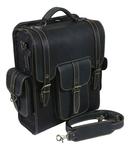 Natural leather Pilgrim knapsack