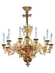 One-level church chandelier - 11 (10 lights)