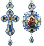 Bishop cross-panagia set no.66