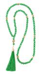 Orthodox prayer rope 100 knots - Cat's eye (green)