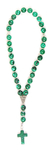 Orthodox prayer rope 30 knots - Malachite