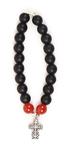prayer-rope bracelet (20 knots) - Shungite