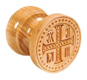 Russian Orthodox prosphora seal NIKA seal no.16 (Diameter: 2.4'' (60 mm))