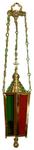 Hanging Paschal church lamp