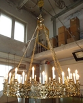 Church chandelier (horos) - Vereya (32 lights)