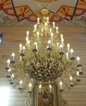 Five-layer church chandelier - 8 (60 lights)