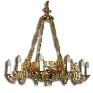 One-level church chandelier - 16 (lights)