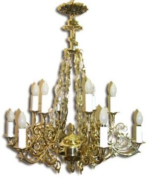 One-level church chandelier - LR12 (4 lights)
