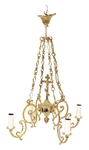 One-level church chandelier - 11 (4 lights)