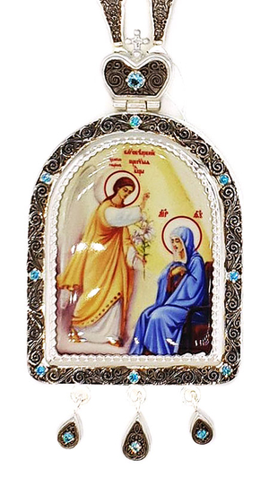 Bishop panagia Annunciation - A1045
