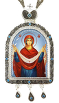 Bishop panagia Protection of the Theotokos - A1045c