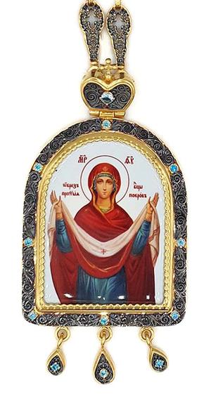 Bishop panagia Protection of the Theotokos - A1045