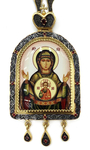 Bishop panagia Theotokos of the Sign - A1045