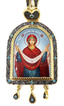 Bishop panagia Protection of the Theotokos - A1045a
